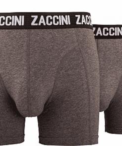 Zaccini boxershort grijs
