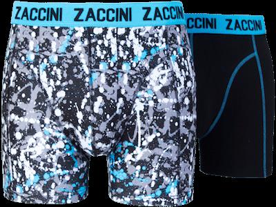Zaccini boxershort drops blauw