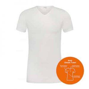 Beeren t-shirt body climate v-hals