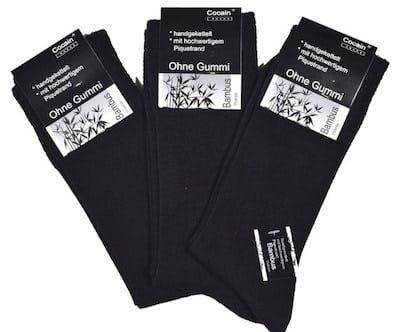 bamboe sokken zwart