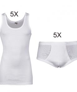 witte klassieke onderbroek