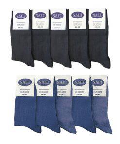 Naft katoenen heren sokken 10-pck