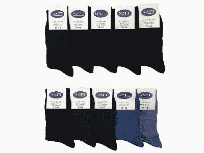 100 % katoenen sokken