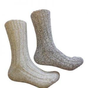 Noorse sokken grijs Anartica 2 paar