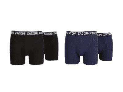 Zaccini boxershort black navy