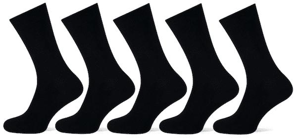 100 procent katoenen sokken
